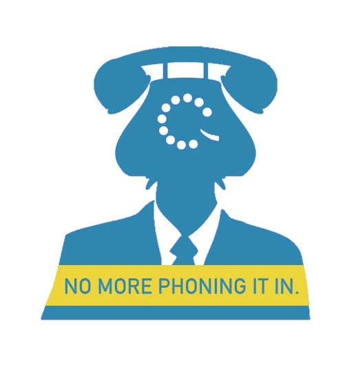 Image result for phoning it in
